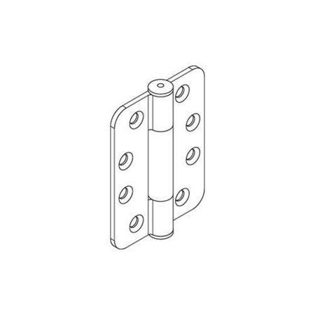 Hafele 926 21 003 HAWA Heavy-Duty Ball Bearing Hinge for