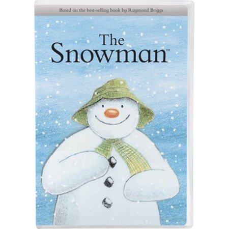 SNOWMAN (DVD/O-SLEEVE/RAYMOND BRIGGS/ANIMATED) (DVD) - Scary Snowman Movie