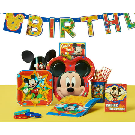Mickey Minnie Mouse Plastic Table Cover Disney Clubhouse Kids Party Tablecloth Card And Store Supplies