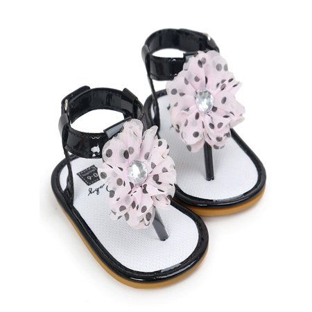7e4145c0af4 love baby - Baby Flower Pearl Sandals Toddler Princess First Walkers ...