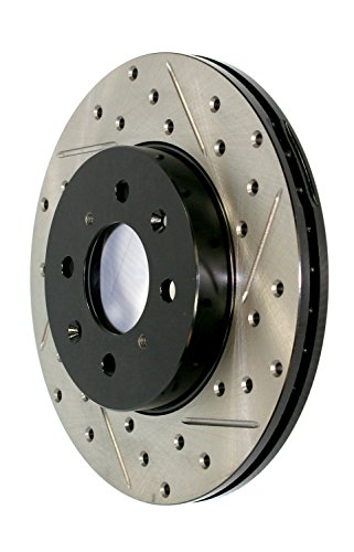 StopTech 127.66057R Sport Drilled//Slotted Brake Rotor Front Right