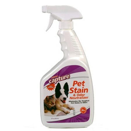Milliken Chemical 3000004987 Capture Pet And Odor Neutralizer Carpet Cleaner 32 Fl Oz