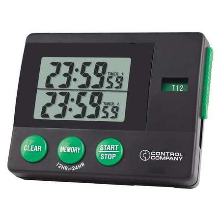 TRACEABLE 5006 2 Memory Timer,Traceable by TRACEABLE