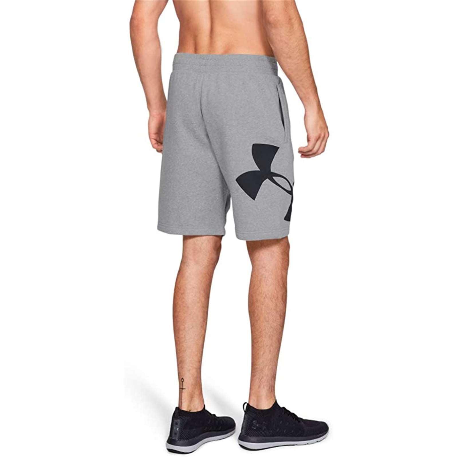 Under Armour Men/'s Rival Fleece Logo Athletic Sweatshorts