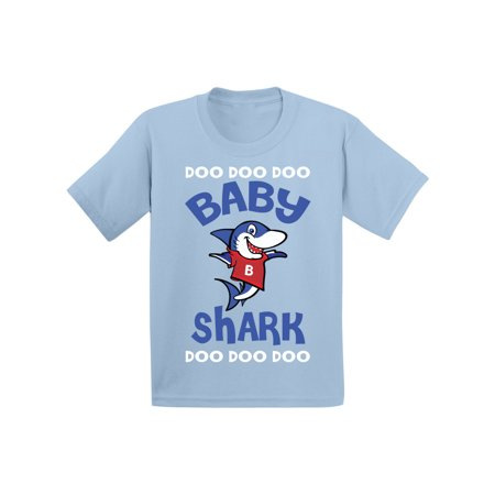 Awkward Styles Cute Baby Shark Infant Shirt Shark Baby Tshirt Shark Gifts for Baby Shark Themed Baby Shower Party First Birthday Gifts Matching Shark Shirts for Family Shark Family Outfit