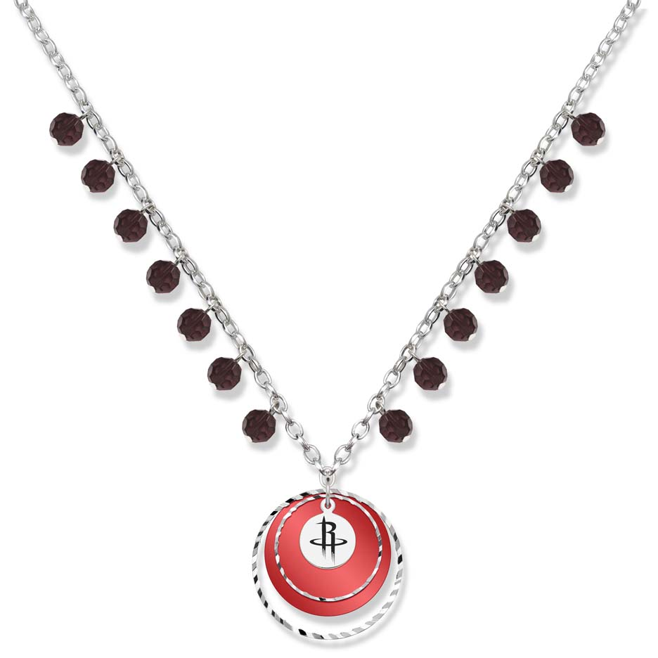 Houston Rockets Game Day Necklace