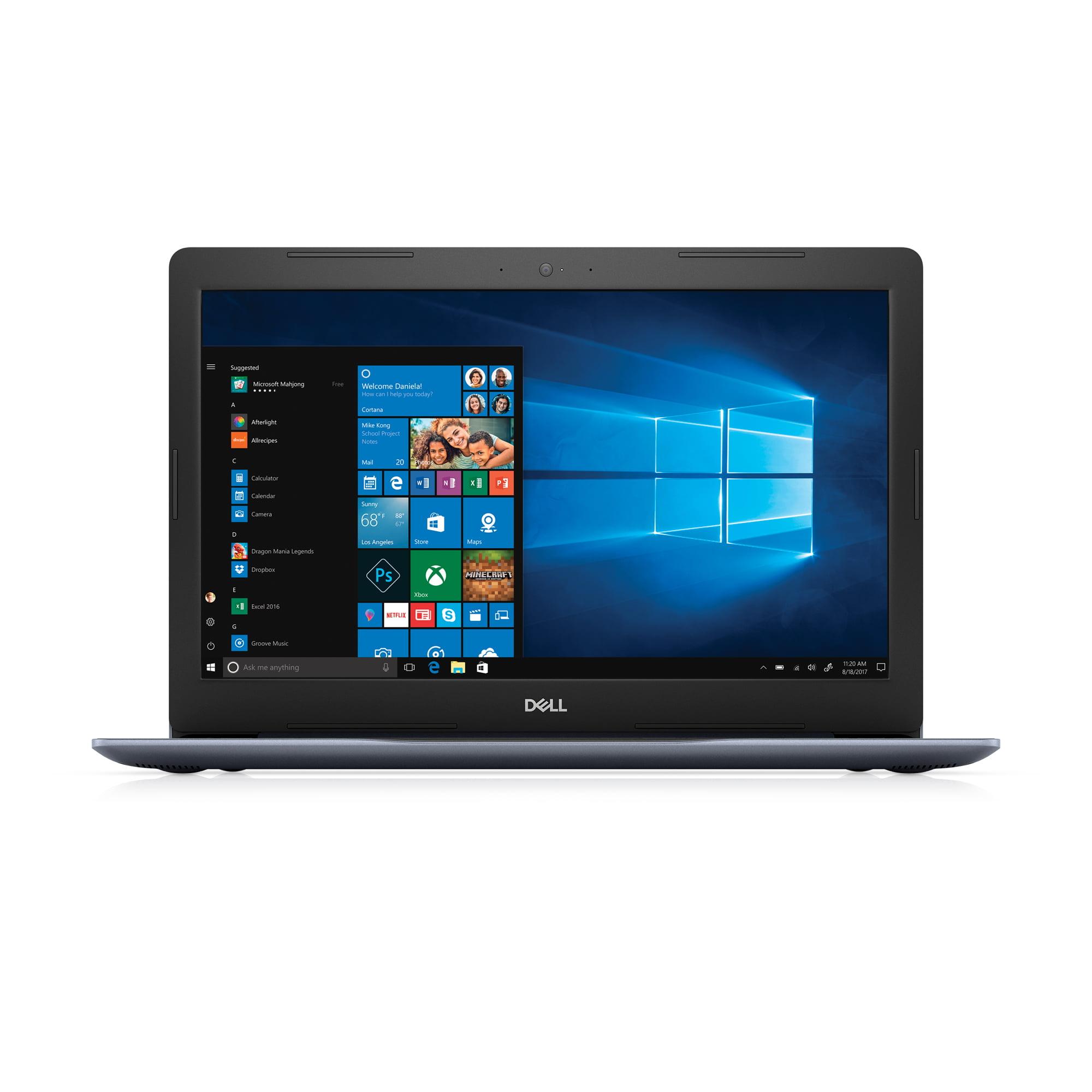 "Dell Inspiron 15 5000 (5575) Laptop, 15.6"", AMD Ryzen™ 3 2200U with Radeon Vega3 Graphics, Integrated Graphics with AMD APU, 1TB HDD, 8GB RAM, i5575-A765BLU-PUS"