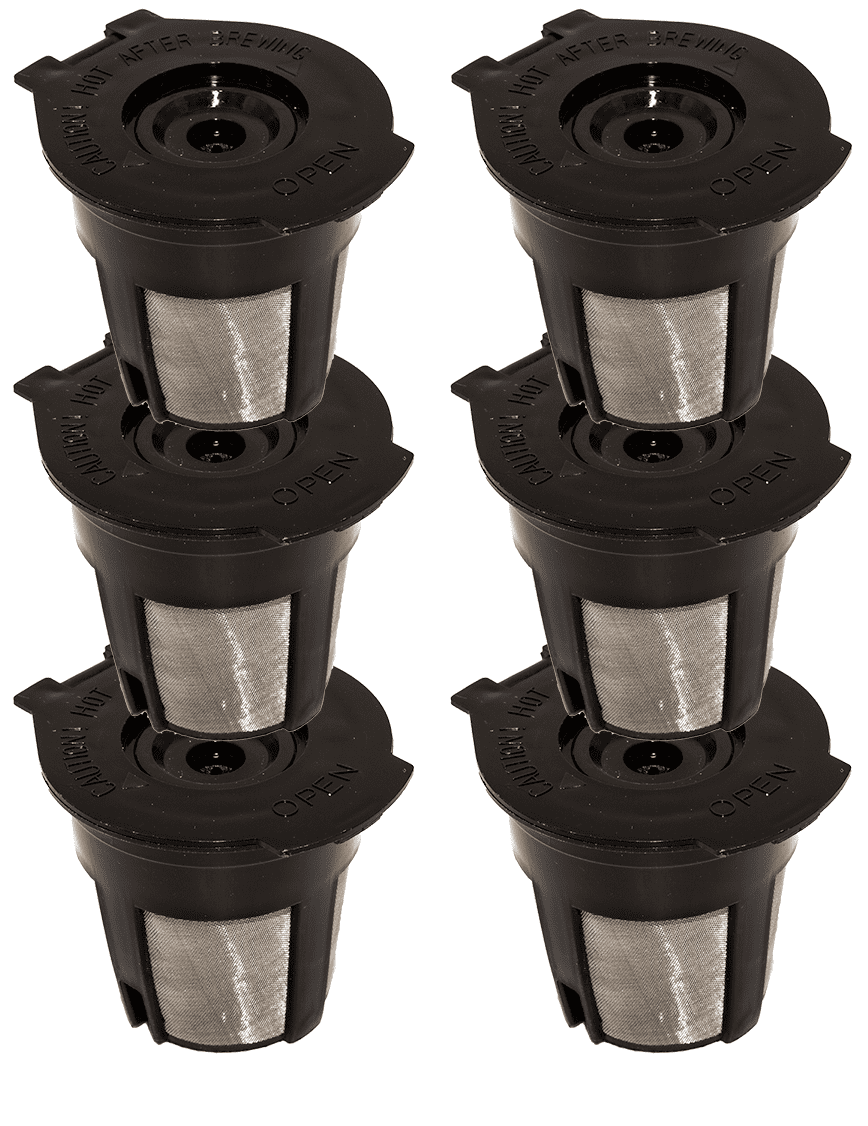 a592b7fdd2b Blendin 6 x Single Coffee Pod Filters Compatible Keurig K Cup Coffee Maker  System