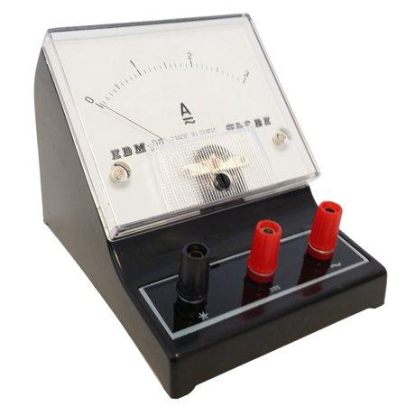 GSC International 4-1309 Analog AC/DC Ammeter, 0A to 3A ()
