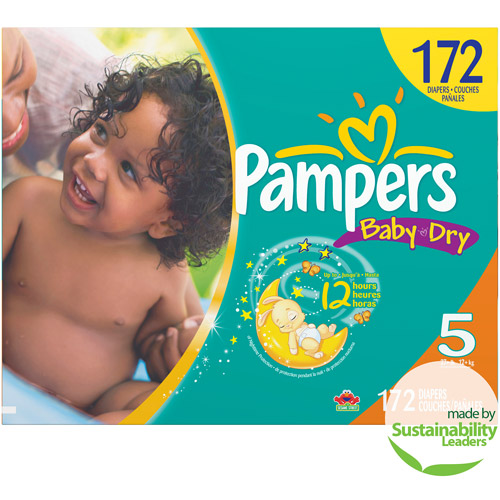 Pampers - Baby Dry Diapers XL Case (Choose Your Size)