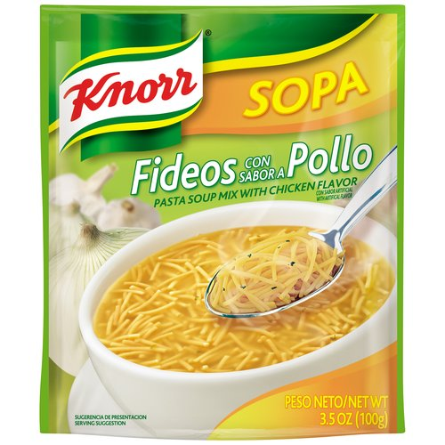 Knorr Sopa Pasta Chicken Soup Mix, 3.5 oz by Unilever