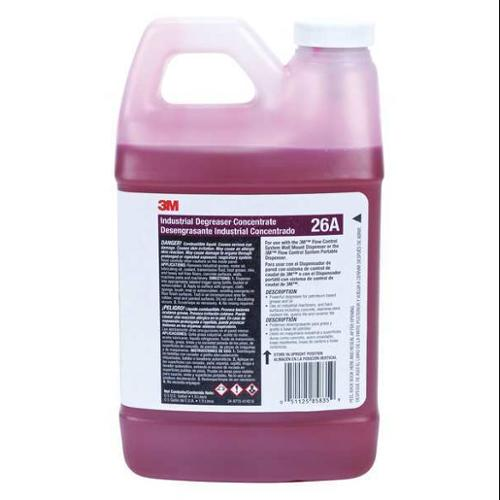 Industrial Degreaser, Red ,3M, 26A