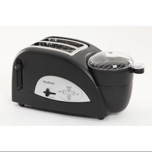 West Bend Kitchen Appliances tem500w 2 Slice Egg And Muffin Toaster West Bend