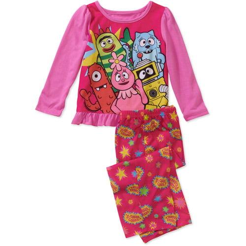 Baby Girls' Yo Gabba Gabba 2-Piece Pajama Set