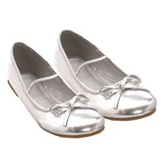 Ellie 013-Ballet Ballet Slipper Children Kids Flat Mary Jane Bow Tie by ELLIE SHOES
