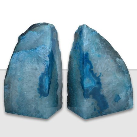 Mercer41 Agate Bookends (Set of 2)