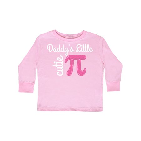 c19e01211 Inktastic - Daddy Little Cutie Pi Day Math Girls Toddler Long Sleeve T-Shirt  - Walmart.com