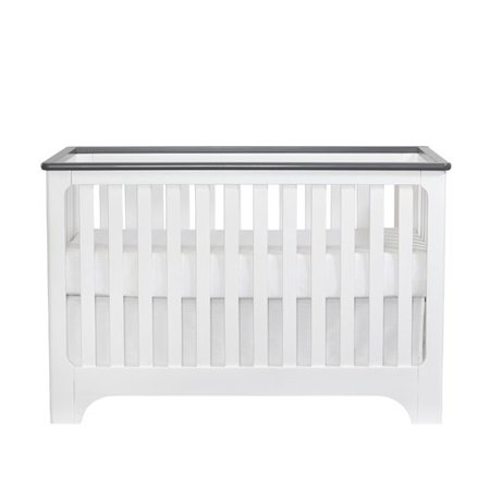suite bebe brooklyn 3 in 1 convertible 2 piece crib set walmart com