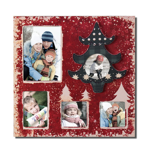 Adeco Trading 5 Opening Decorative Wall Hanging Collage Picture Frame