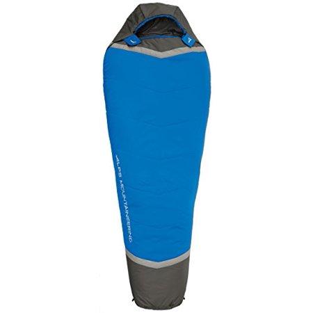 (ALPS Mountaineering Aura +35 Degree Mummy Sleeping Bag, Regular)