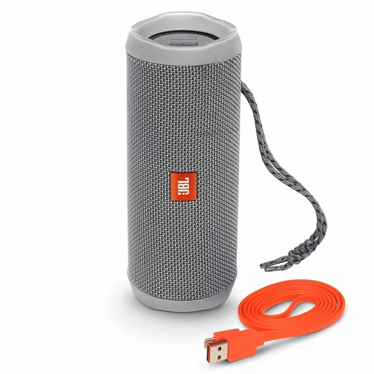JBL Flip 4 Wireless Portable Bluetooth Speaker Gray