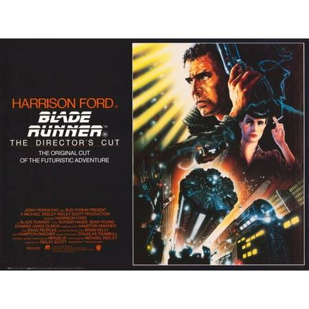 Blade Runner - The Director's Cut (1992) 11x17 Movie