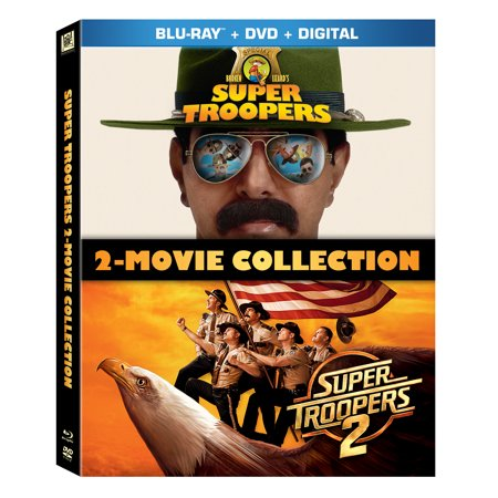 Super Troopers 2-Movie Collection (Blu-ray + DVD + (Super Cheap Ray Bans)