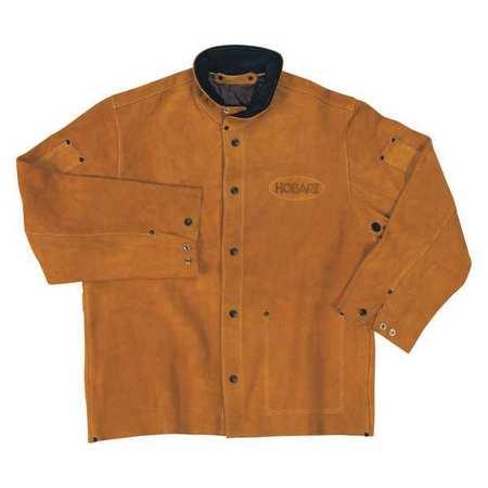Hobart 770573 Welding Jacket,2XL,Cowhide G3322396 by HOBART