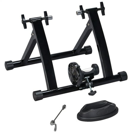 Foldable Bike Trainer Magnetic Cycle Indoor Bike Trainer Stand Exercise Stand Bicycle Turbo Trainer