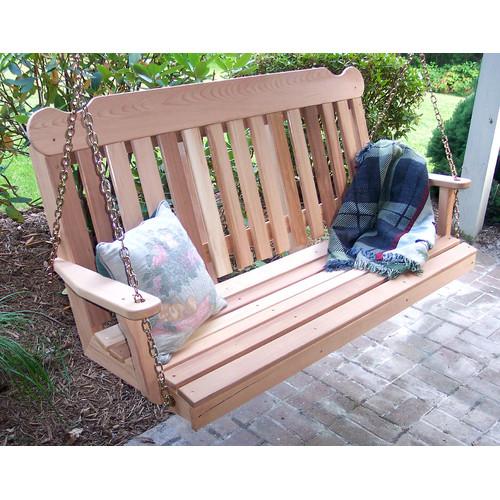 Creekvine Designs Cedar Porch Swing by Porch Swings
