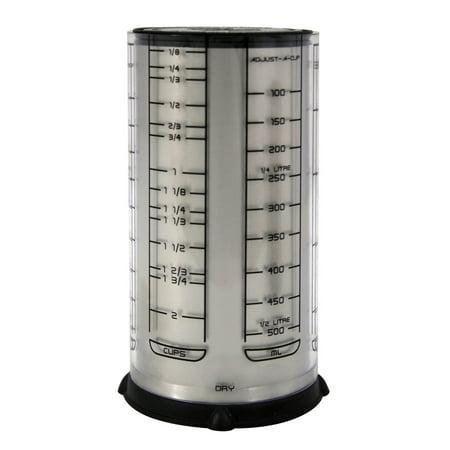 - Fox Run KitchenArt Pro 2 Cup Adjust-A-Cup Dry Liquid Measuring Standard & Metric