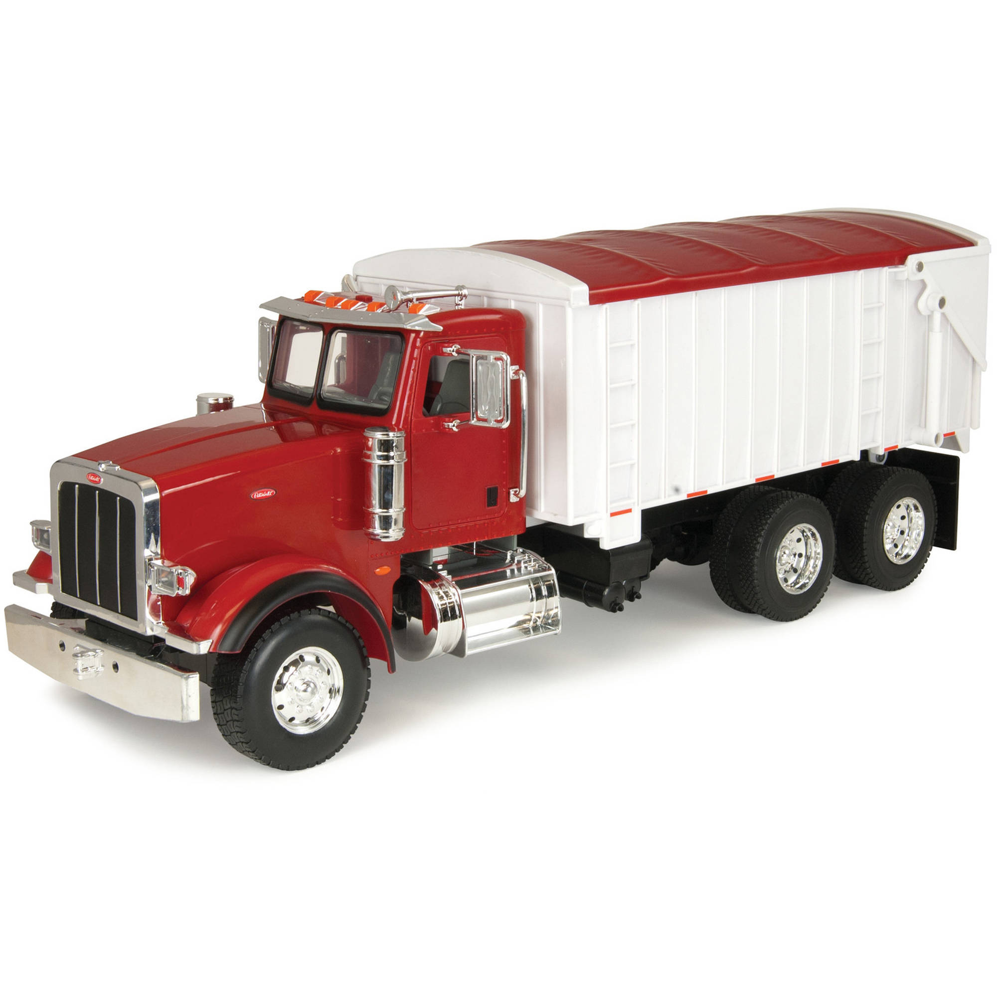 TOMY 1:16 Scale Big Farm Peterbilt with Grain Box Diecast Vehicle by TOMY