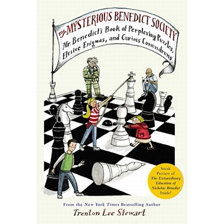 The Mysterious Benedict Society: Mr. Benedict's Book of Perplexing Puzzles, Elusive Enigmas, and Curious (Enigma Best Of Cd1)