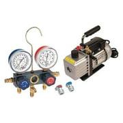 FJC, INC. KIT6M Vacuum Pump/Gauge Set