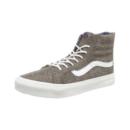 e46dc4145414f0 Vans Unisex Sk8-Hi Slim Zip Cheetah Suede Sneakers. Average  rating 4.7179out of5stars