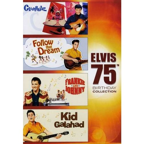 Elvis: 75th Birthday Collection - Clambake / Frankie And Johnny / Follow That Dream / Kid Galahad (Widescreen)