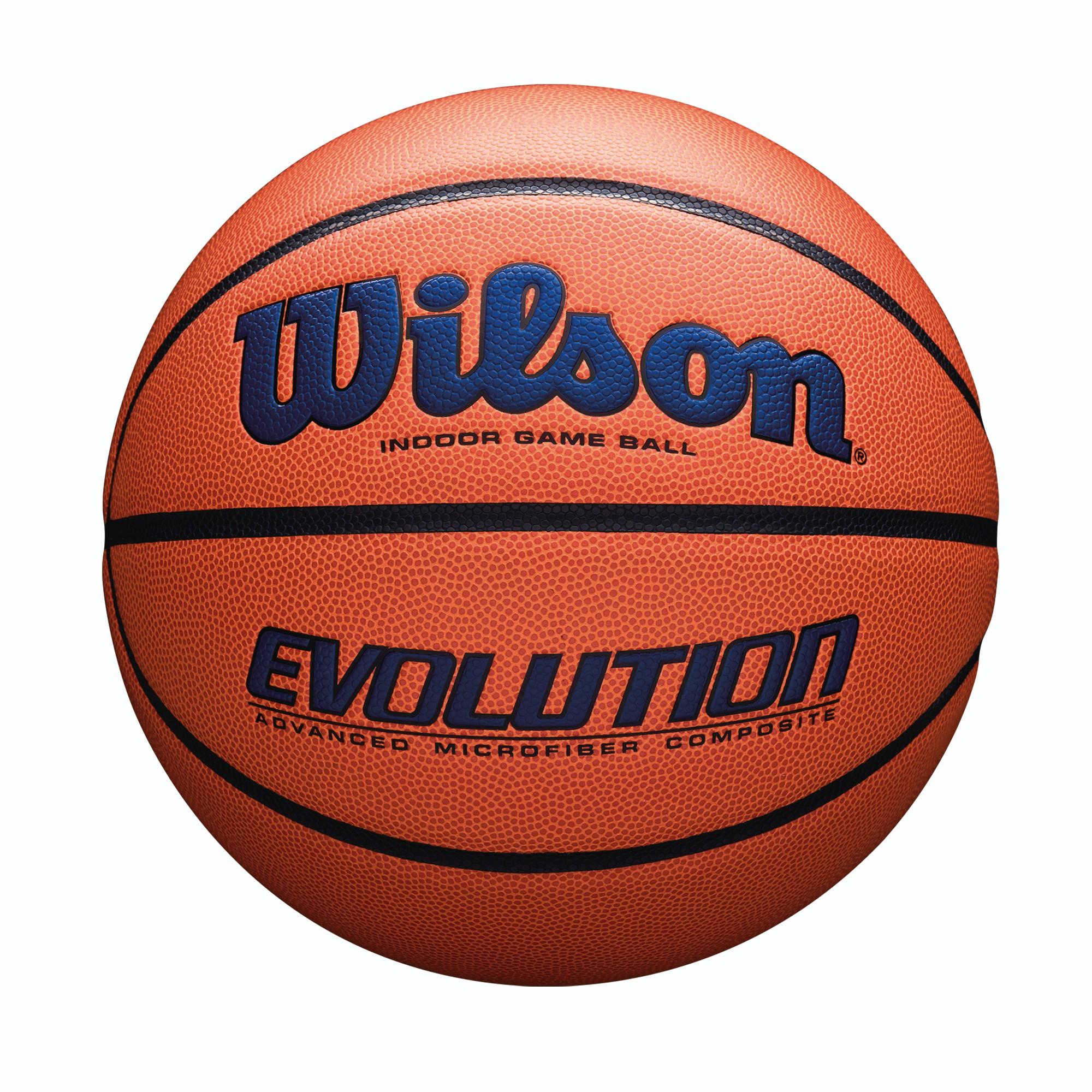 Wilson Evolution Game Basketball, Official Size, Navy by Wilson Sporting Goods