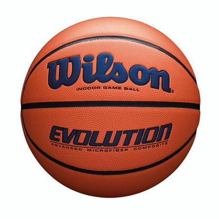 Bowling Green University Basketball (Wilson Evolution Game Basketball, Official Size, Navy)