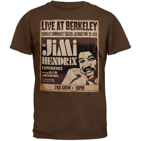 Jimi Hendrix - Live At Berkeley Soft T-Shirt