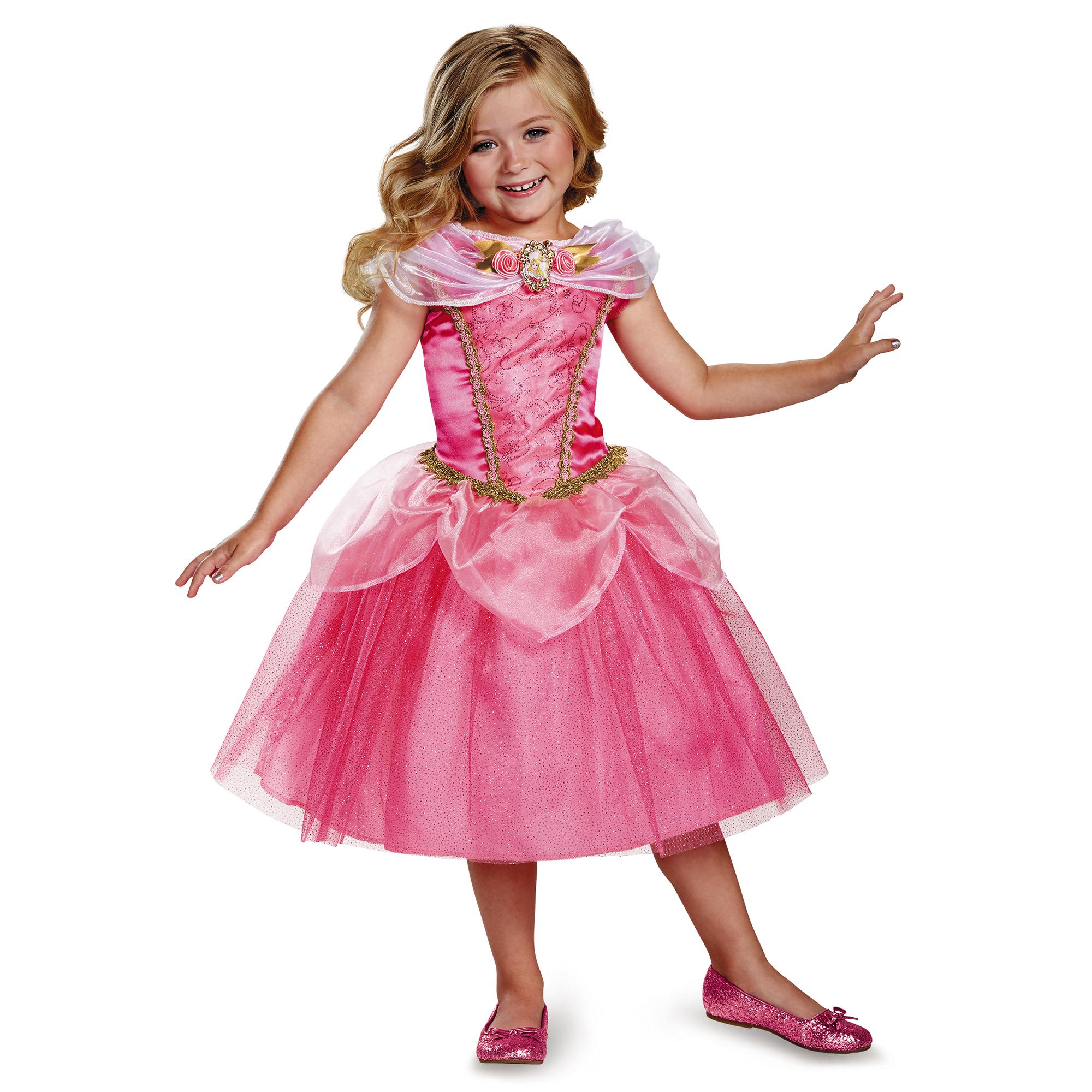 Sleeping Beauty Girls' Aurora Classic Costume