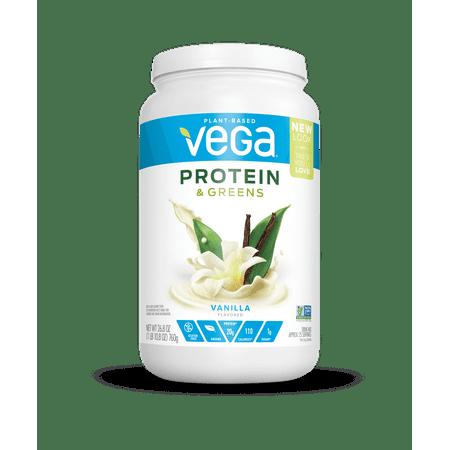 Vega Protein & Greens Vanilla 26.8oz, 25 servings
