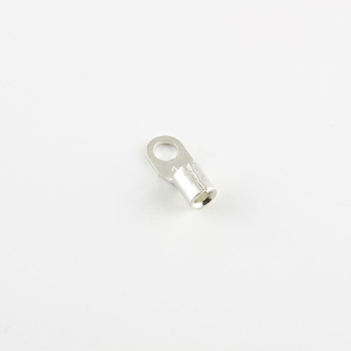 12-10 Ga. Narrow-Profile Ring Terminals, #8 Stud - (pack of 50)