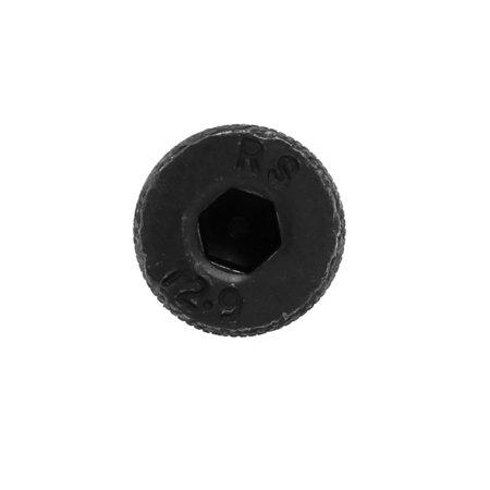 4pcs Alloy Steel Hex Socket Drive M13x80mm Shoulder Screw M10x17mm Thread - image 1 de 3