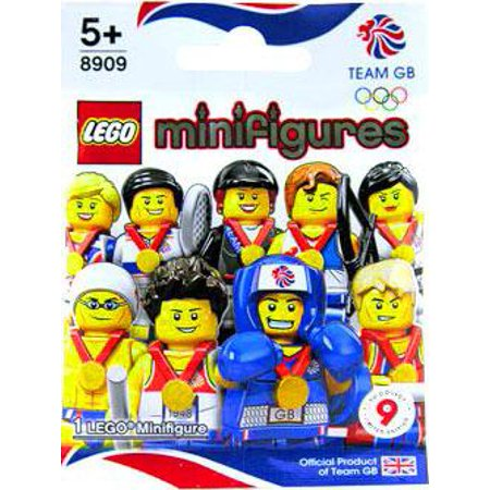 Olympics Set Block - LEGO LEGO Great Britain Olympic Team Olympic Great Britain Team Mystery Pack