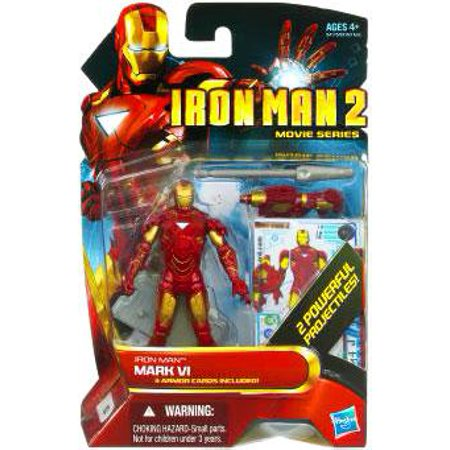 Movie Series Iron Man Mark VI Action Figure [Random - Mark Vi Iron Man