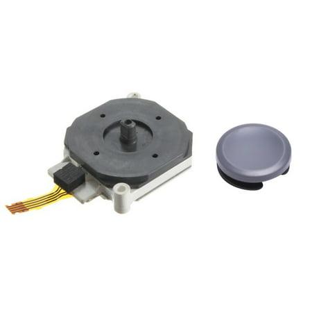 Tech Analog - Games&Tech Analog Controller Joystick Plus Stick Cap Cover Replacement for Nintendo 3DS XL LL