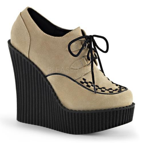 Demonia Creepers Womens CRE302 CRVS Size: 10 by