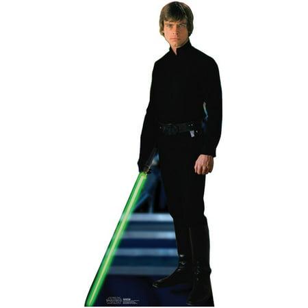 Advanced Graphics 1291 70 in. x 31 in. Luke Skywalker Cardboard Standee Standup Cutout Star Wars