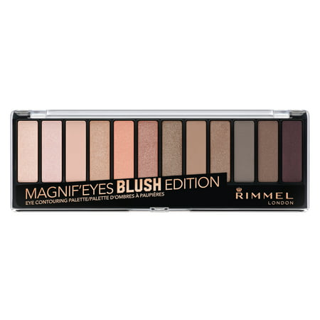 Rimmel Magnif'eyes Eyeshadow Palette, Blush (Best Eyeshadow For Gray Eyes)