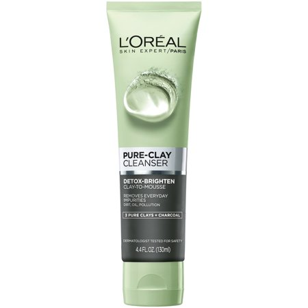 L'Oreal Paris Pure-Clay Cleanser Detox & Brighten, 4.4 fl.